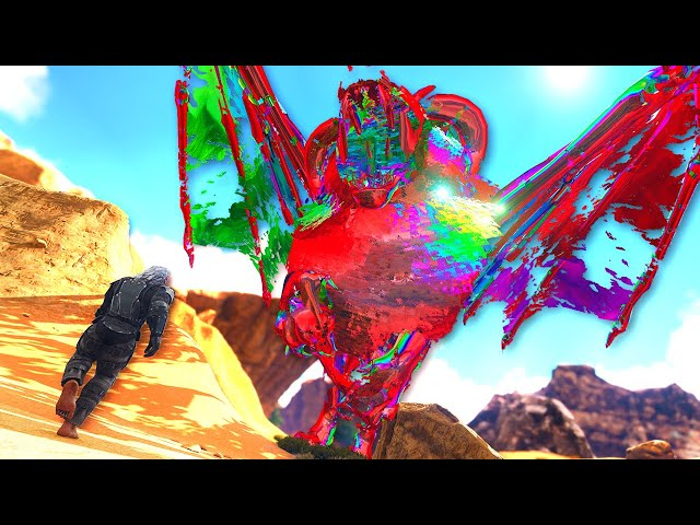 This are the CRAZIEST BOSSES iv EVER SEEN IN ARK!   ARK O-MEGA Modded #106