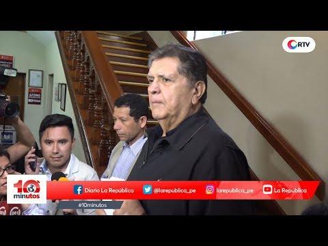 """García a sus adversarios: """"Seguirán arrastrando sus frustraciones"""" - #10 minutos Edición Noche"""
