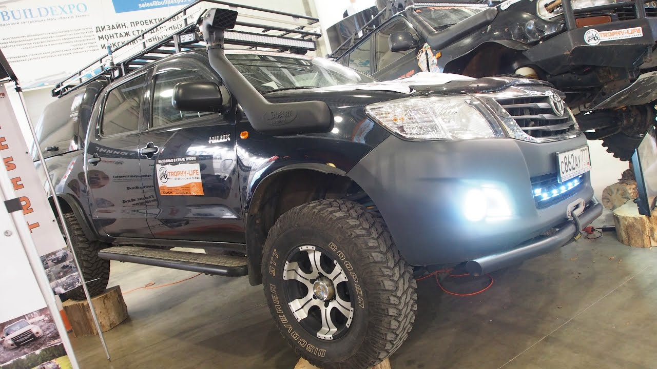 Ford Ranger Tuning >> Toyota Hilux Lifted Offroad Tuning - Exterior Walkaround ...