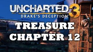 Uncharted 3 Treasure Locations: Chapter 12 [HD]