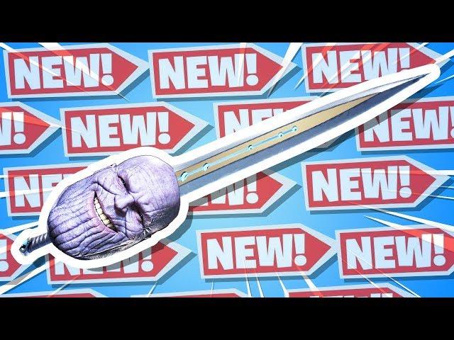 Fortnite Thanos Sword.