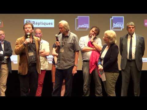 Inauguration par Jiří Barta et Céline Sciamma du 42e festival international du film de La Rochelle