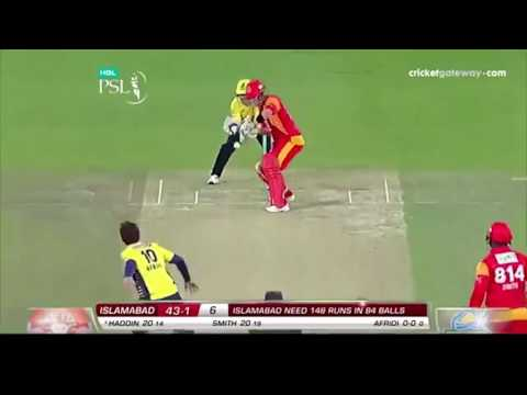 Australian Media Report on PSL First's Match Between Islamabad and Peshawar