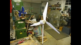 How to Make a Whirligig Wind Turbine model