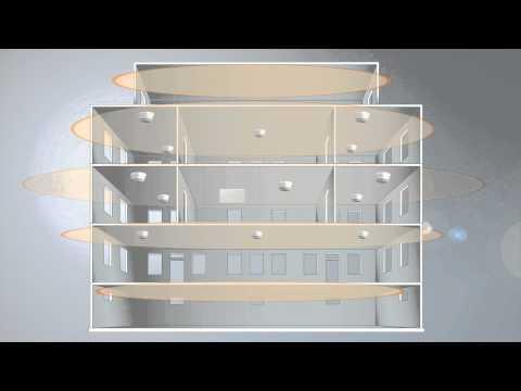 Wireless fire alarm system: SWING animation - how it works