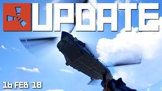 First look at the Chinook, new chainsaw model   Rust update 16th Feb 2018 thumbnail