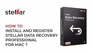 Activate Stellar Data Recovery Professional on MacBook, iMac, Mac Mini