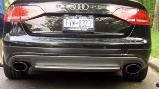2010 audi b8 s4 milltek non resonated catback exhaust