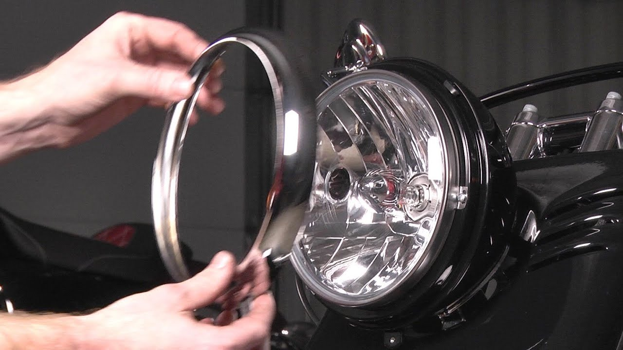 How To Install A Headlight On A Harley Davidson By J Amp P