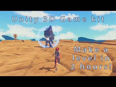 Unity 3D Game Kit Is Awesome!