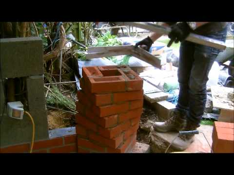 The Fine Art Of Brickwork Twisted Arch 1 Of 4 The Piers Youtube