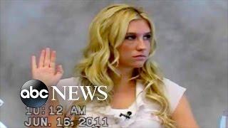 Kesha Denies Sexual Advances in 2011 Deposition Video