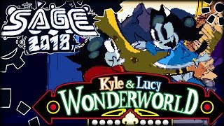 IS THE CAT SONIC? | SAGE 2018 | Kyle and Lucy Wonderworld