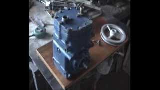 Tutorial Como armar una compresora para pintar o inflar neumaticos 1a parte