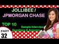 jollibee | jpmorgan chase top most interview questions and answers for freshers / experienced