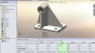 SolidWorks Simulation, Análisis de Elementos Finitos (Validación) CAE FEA