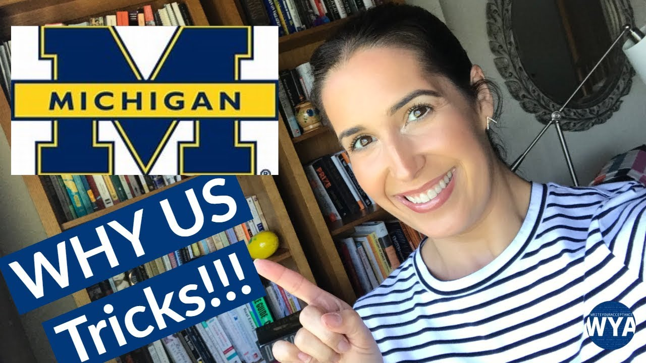 University of Michigan Supplemental Essay