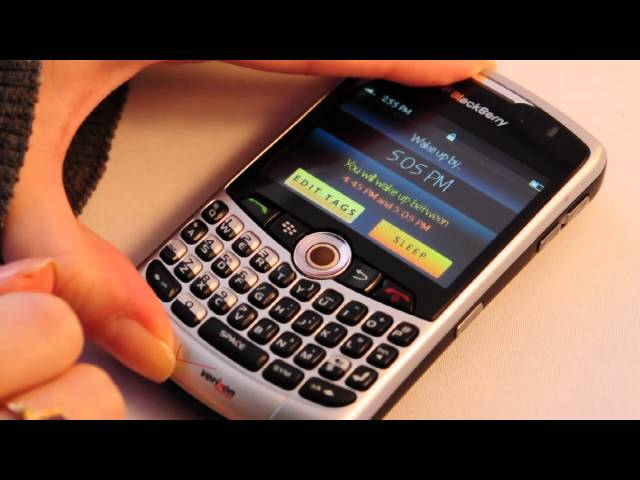 How to use Wakemate with  Blackberry