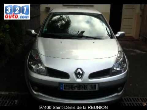 Occasion Renault Clio III Saint-Denis de la REUNION