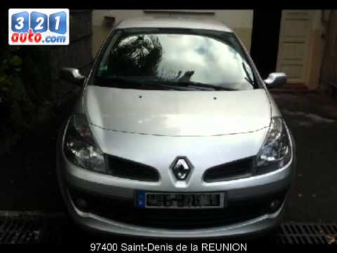 occasion renault clio iii saint denis de la reunion youtube. Black Bedroom Furniture Sets. Home Design Ideas