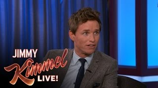 Eddie Redmayne on Meeting Celebrities