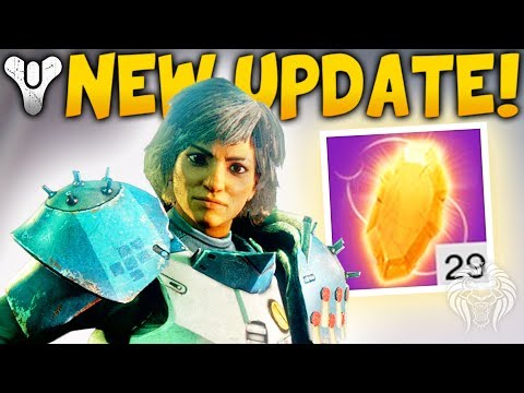 Destiny 2: NEW UPDATE & SPECIAL QUEST! Nerfed Exotics, Easy Masterworks, Farming Exploits & Loot