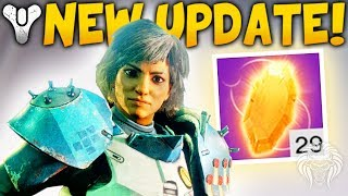 Destiny 2: NEW UPDATE & SPECIAL QUEST! Nerfed Exotics, Easy Masterworks, Faming Exploits & Loot thumbnail