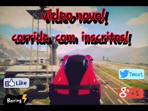 GTA V OnLine PS3: Corrida Pelo Fort Zancudo!!