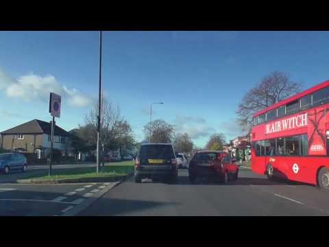 Driving through Kingsbury, London, 13.11.2016