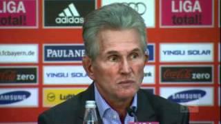Pressekonferenz mit Markus Babbel und Jupp Heynckes