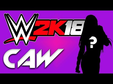 WWE 2K18 - Create A Superstar - Female Options w/Live Commentary!