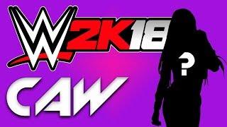 WWE 2K18 - خلق نجما الإناث الخيارات w/تعليق مباشر!