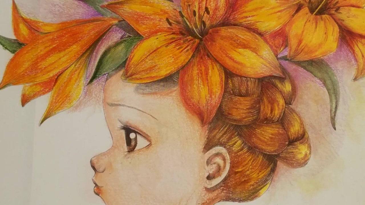 Coloriage Wild By Emmanuelle Colin / Picture 1 - YouTube