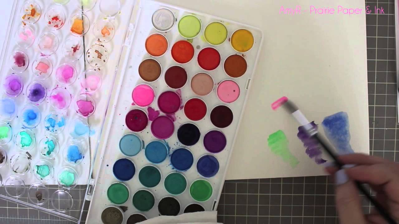 Product Review Artist Loft Watercolors Youtube