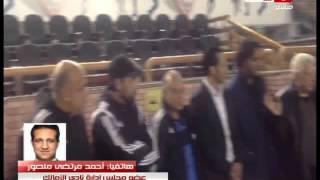 أحمد مرتضى منصور يشن هجومًا على المواقع .. ويكشف حقيقة إستقالة عبد الحليم على