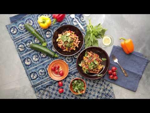 Santa Fe Penne: Vegan Plant-Based Recipe