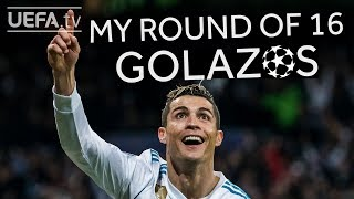 RONALDO'S BEST ROUND OF 16 GOALS!
