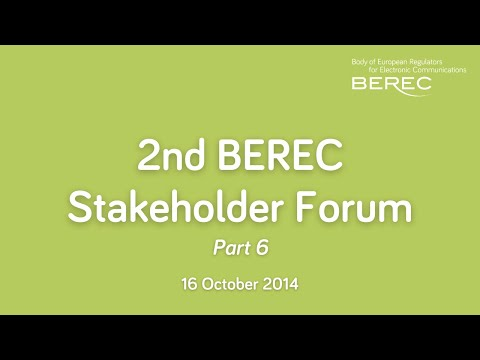 2nd BEREC Stakeholder Forum Meeting - Looking for the future model for roaming - part 2