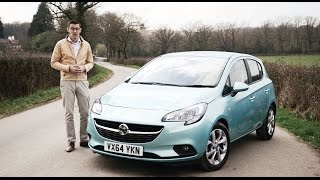 Vauxhall Corsa 2015 video review - BusinessCar
