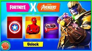 - GRATUIT - Articles et armes!! A propos de l'utilisateur Fortnite X Avengers!