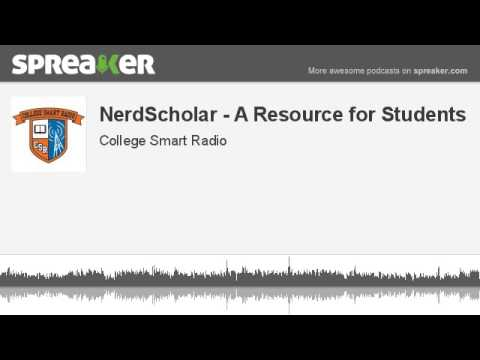 NerdScholar: An Unbiased Resource to Help Students Find Scholarships & Navigate their Financial Aid