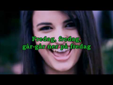 Fredag Swedish Rebecca Black  Friday Spoof *PARODY*