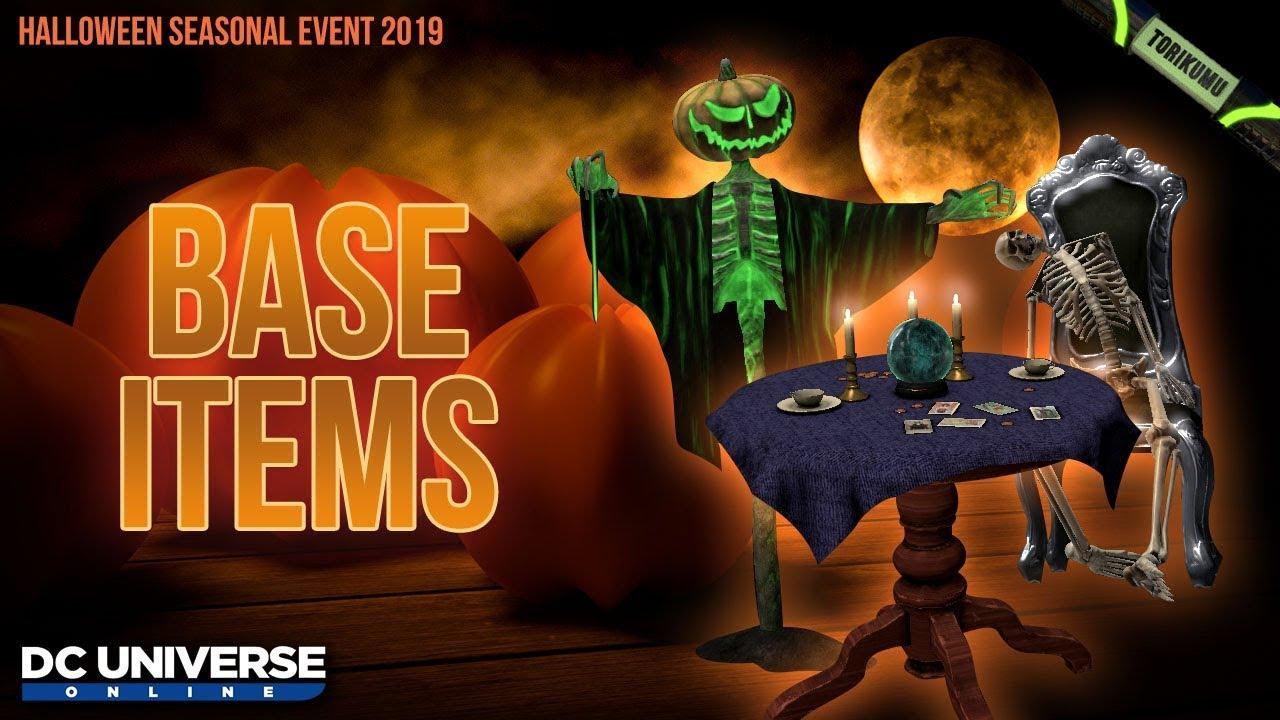 Dcuo Halloween 2020 DCUO Halloween 2019: Base Items   YouTube