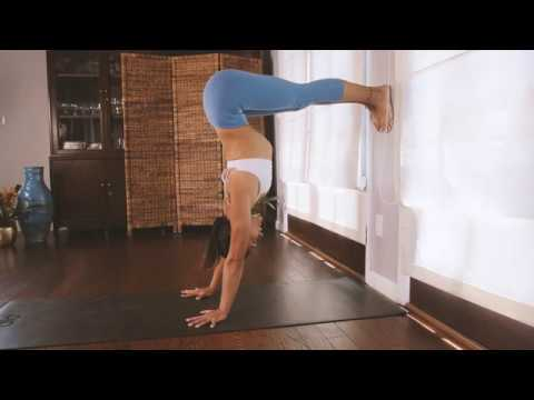 How to Handstand: The Basics⎢Practice Yoga with Briohny Smyth
