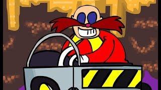 Original Sonic Game Vs Flash Animation !