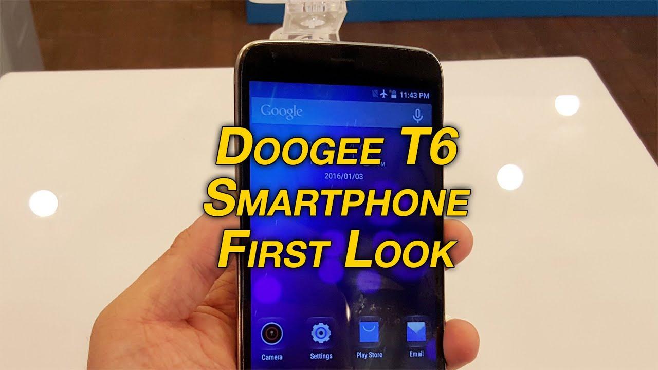Doogee T6 Smartphone Revealed   Tech ARP