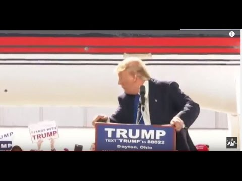 Donald Trump Almost ATTACKED By Protester During Ohio Rally