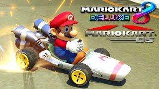 LA COMBINACIÓN DE MARIO KART DS EN MARIO KART 8 DELUXE | Nintendo Switch