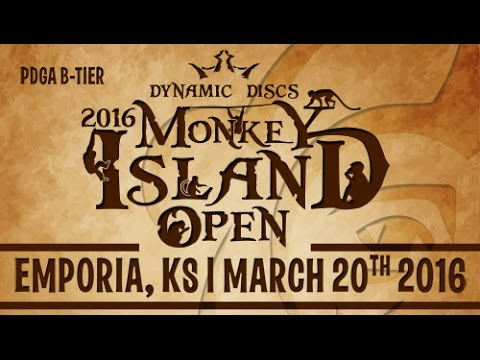 2016 Monkey Island Open | Disc Golf Tournament
