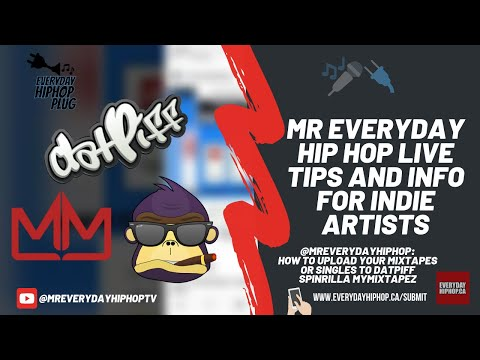 How to upload your mixtapes or singles to datpiff spinrilla mymixtapez